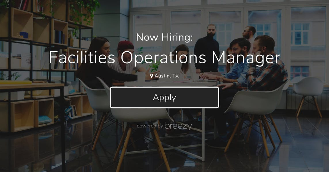 Image result for hiring Facility Operation Manager
