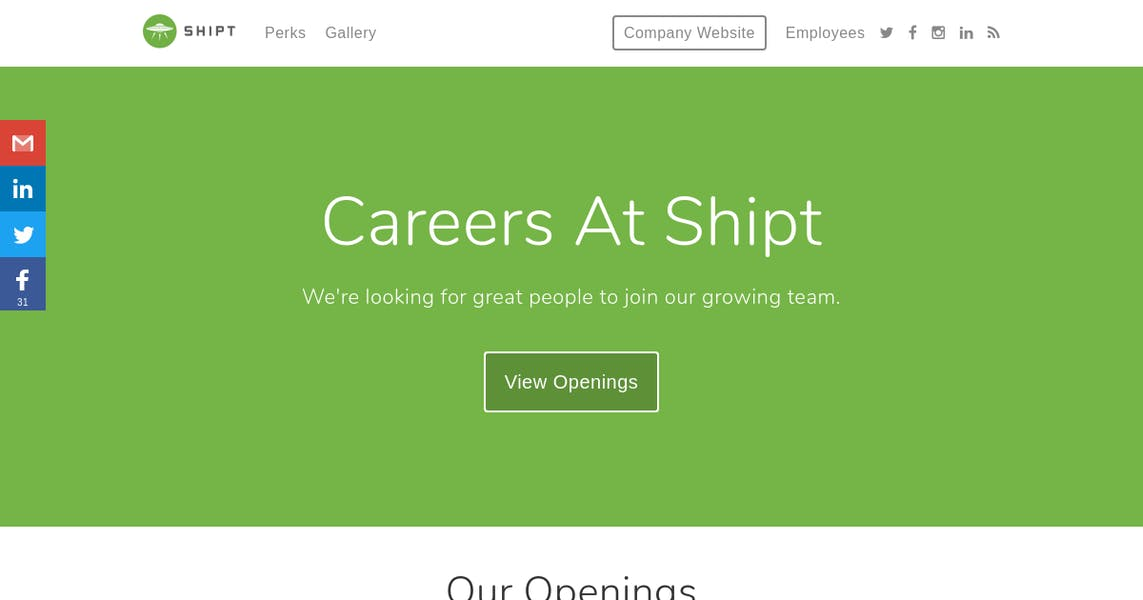 Data Engineer, ETL at Shipt