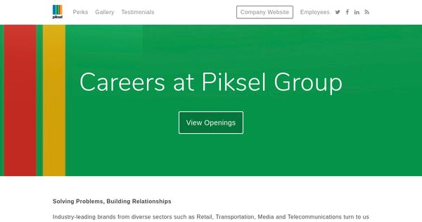 service delivery manager at piksel