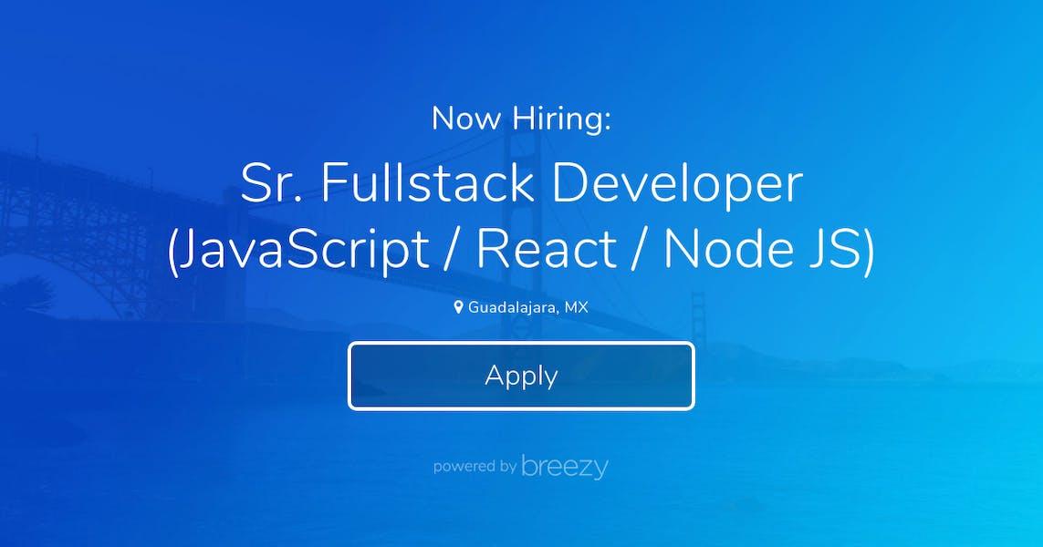 Fullstack Developer (JavaScript / React / Node JS) at Talexa