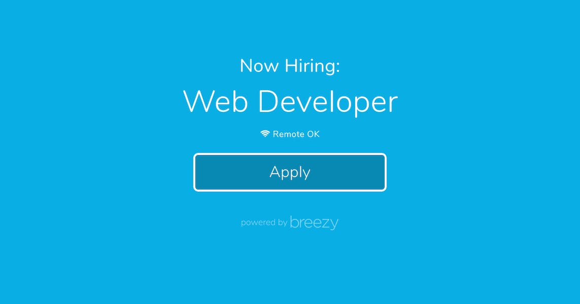 Web Developer at Write as