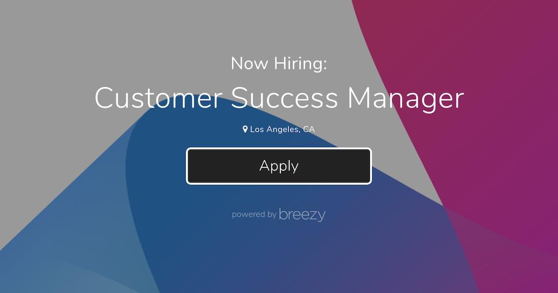 Customer Success Manager at Mira Labs