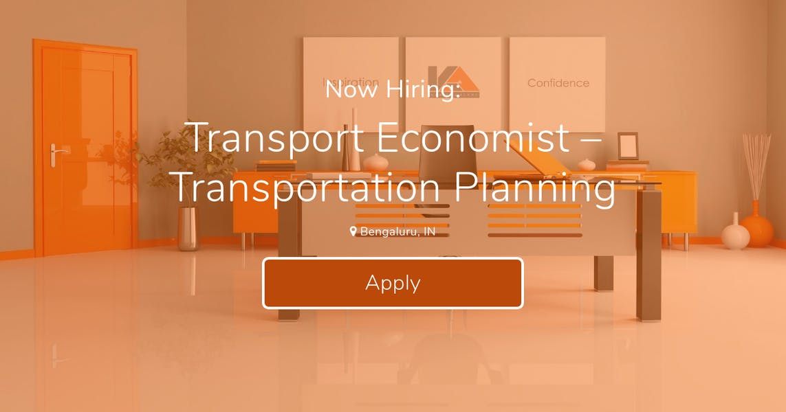 Transport Economist – Transportation Planning at khatibalami