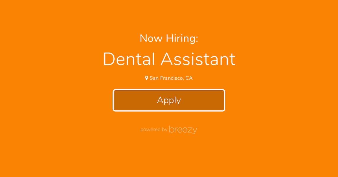 Dental Assistant for Fast-Growing Dental Startup (Investors