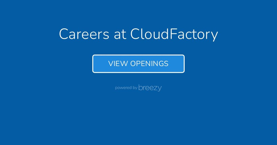 Openings at CloudFactory
