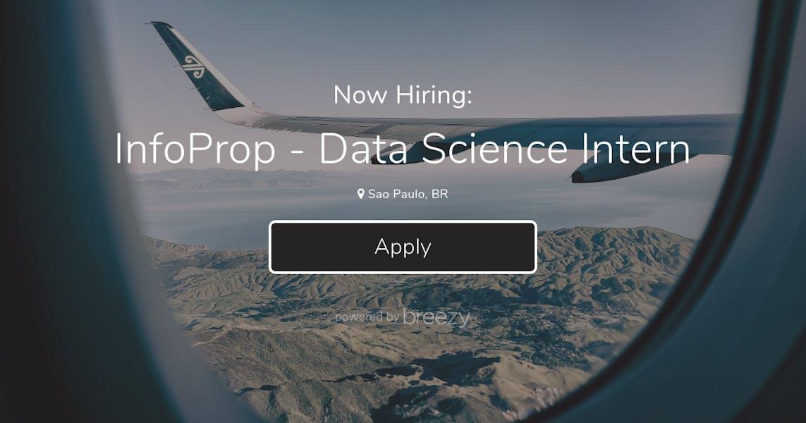 InfoProp - Data Science Intern at SiliconBali