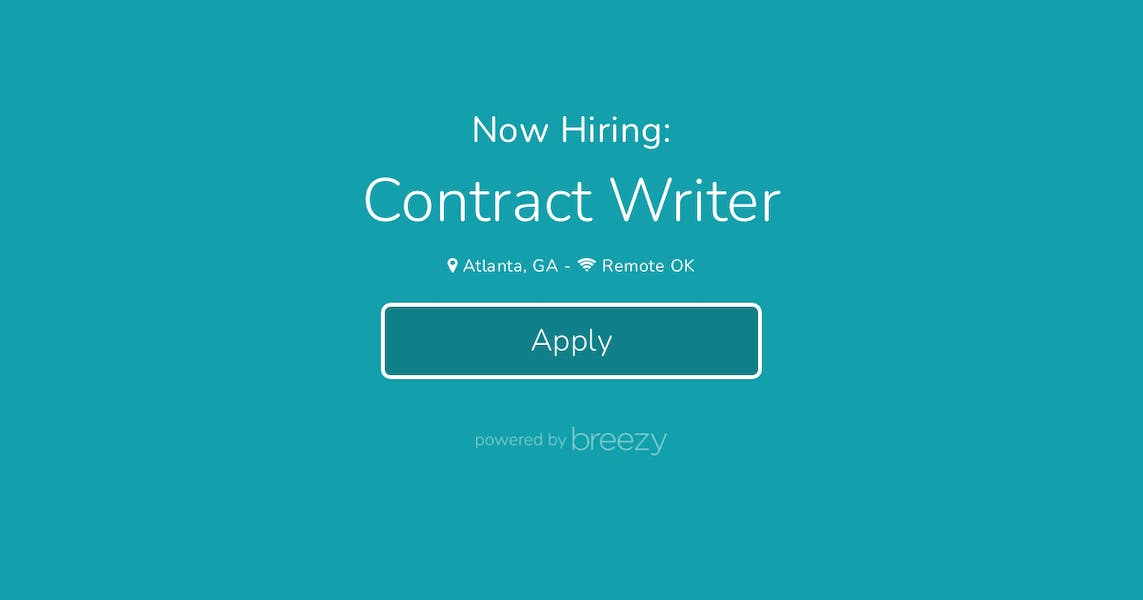 Contract Writer at The Educator's Room