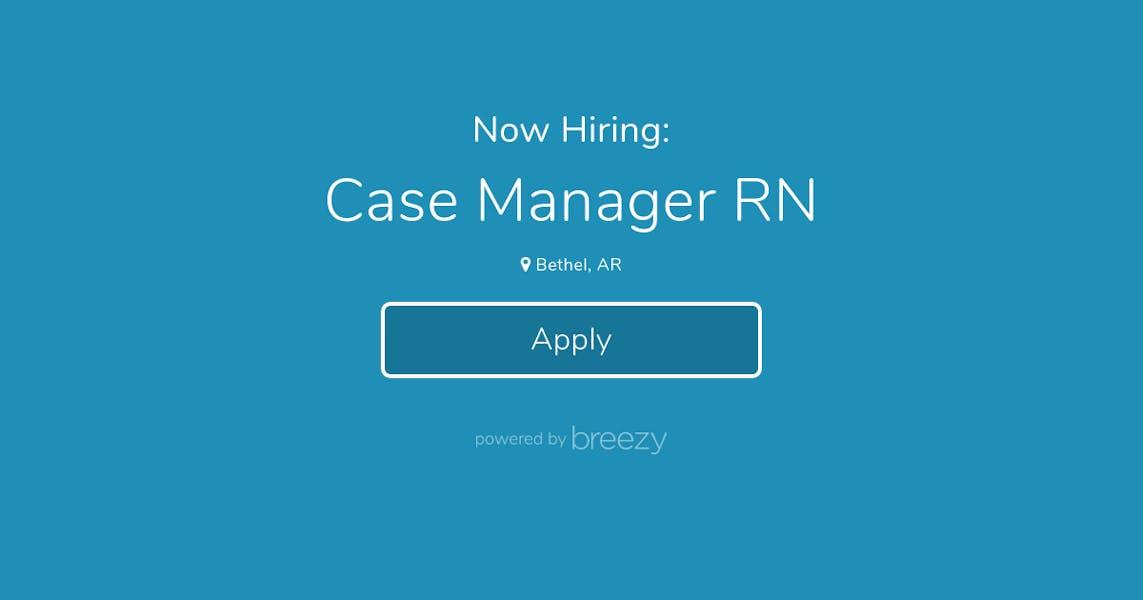 Case Manager Rn At Ntg Groups Llc