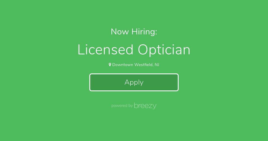 Licensed Optician At Talent Savant