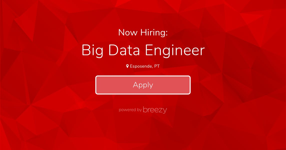 Big Data Engineer at Prozis