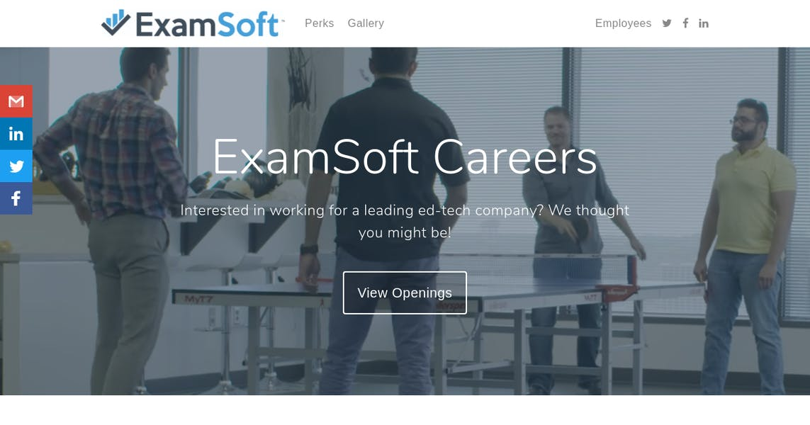 Market Researcher at ExamSoft Worldwide