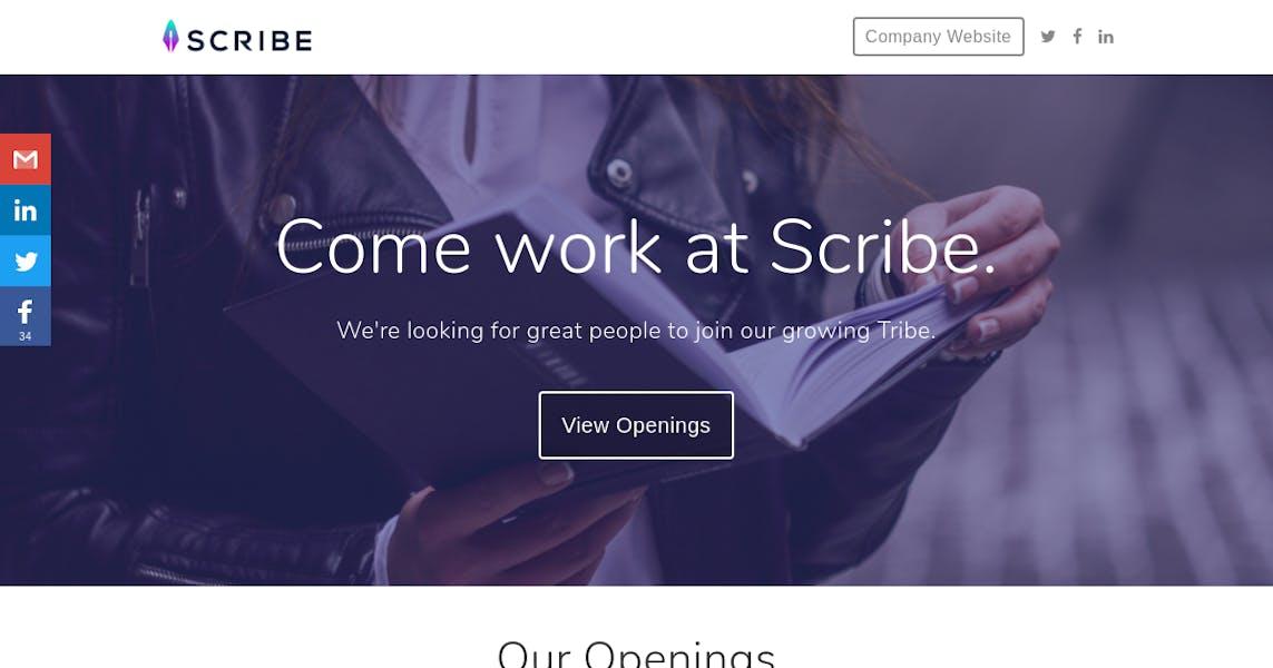 Scribe (Ghostwriter) at Scribe Media